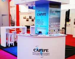 STAND CAPIPE EN EXPO OIL & GAS PATAGONIA 2014